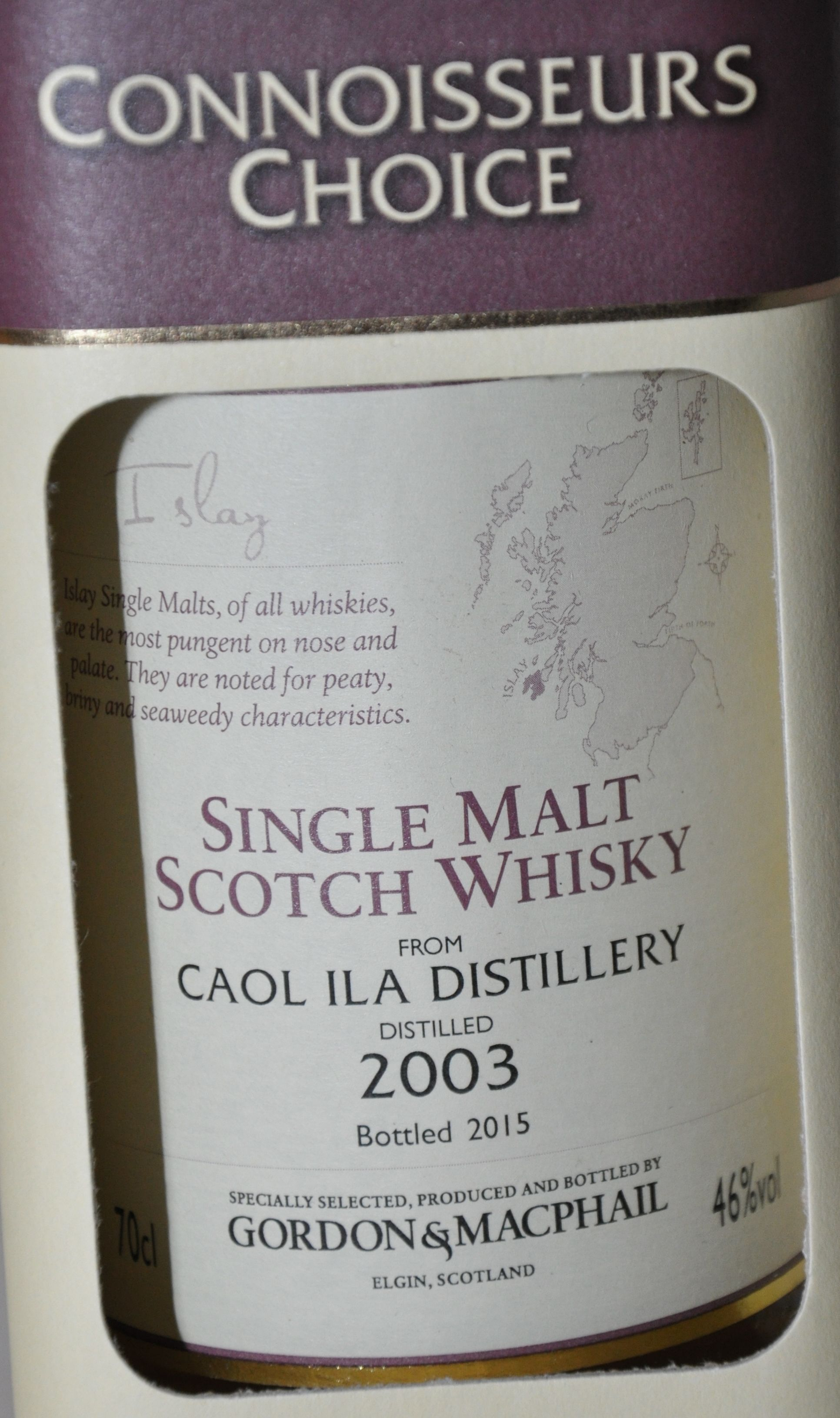 Caol Ila from Gordon McPhail  2003