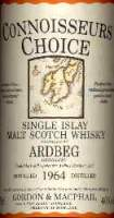 Ardbeg Vintage 1964 - The label