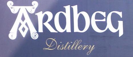 Ardbeg distillery (sign)