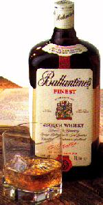 Ballantines Finest - Whisky Bottle