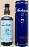 Ballantine's 21 years old.