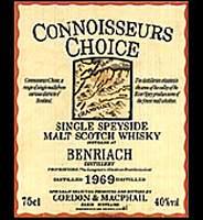 Benriach 1969 vintage - connoisseurs choice from Gordon MacPhail