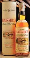 BlairMhor Pure Scotch Malt Whisky 8 years old - bottle and box