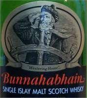 Bunnahabhain 12 years old - the label