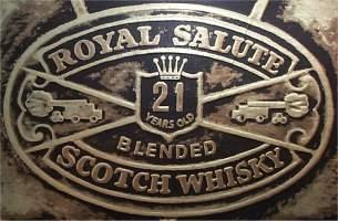 The royal Salute logo