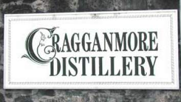 Sign to Cragganmore distillery picture from www.scotchwhisky.net