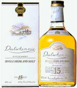 Another picture of Dalwhinnie 15 year old whisky
