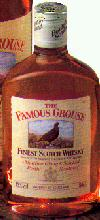 Famouse Grouse Whiskey bottle