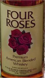 Four Roses picture of the label