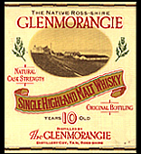 Glenmorangie 10 years old - old label