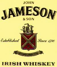 Jameson, (John) Irish whiskey - The Jameson Whiskey logo.