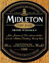 From the Midleton Irish Whiskey Box.