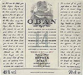 OBAN - The Label