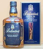 Ballantine's Gold Seal 12 years old.