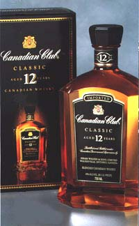 Canadian Club Classic, 12 Years old.